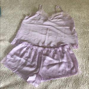 NWOT Victoria's Secret Lingerie Short Pajama Set